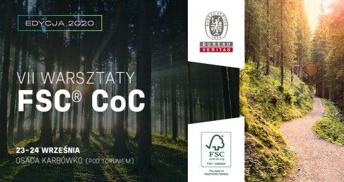 Warsztaty FSC® CoC edycja specjalna 23-24 września 2020